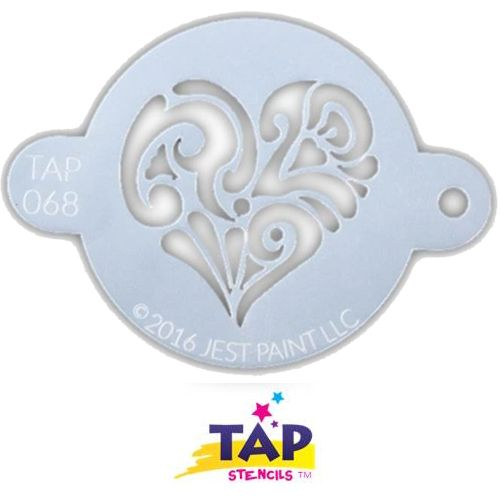 068 TAP Ornate Heart