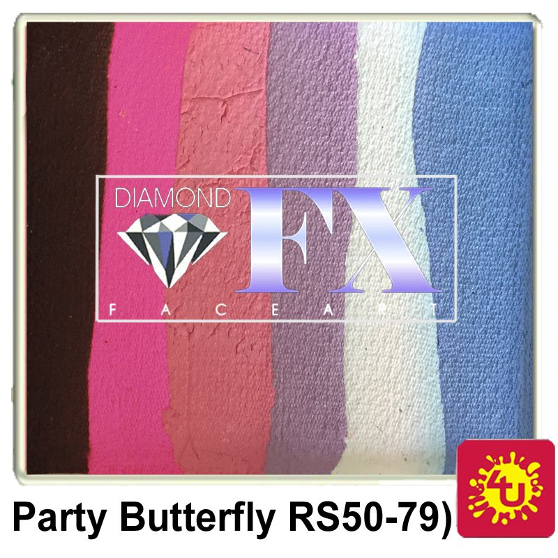 DFX 50g Split Cake ~ Party Butterfly (RS50-79)
