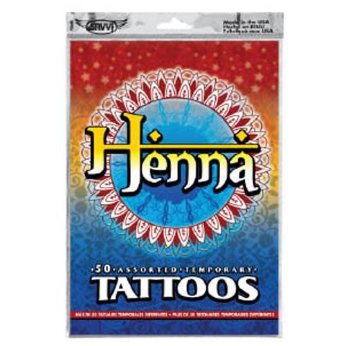 Henna Style Temporary Tattoos