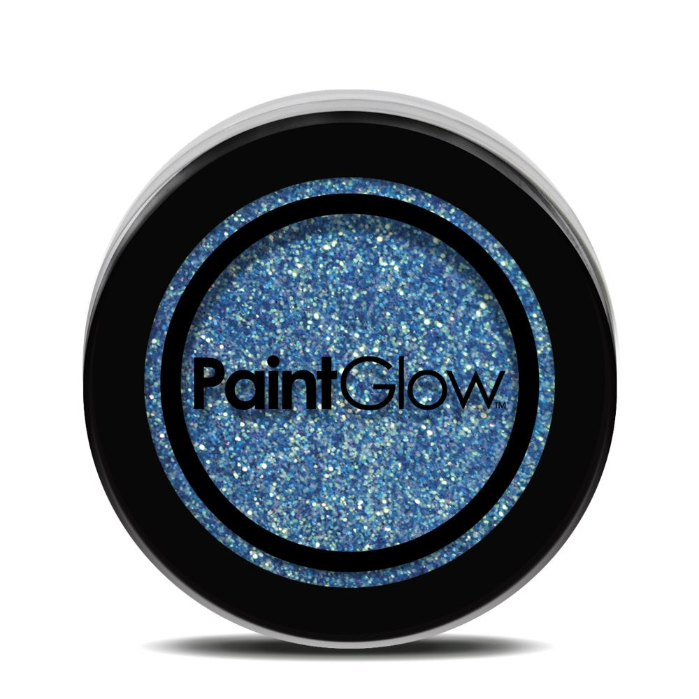 Neon UV Glitter Shaker - Ice Blue